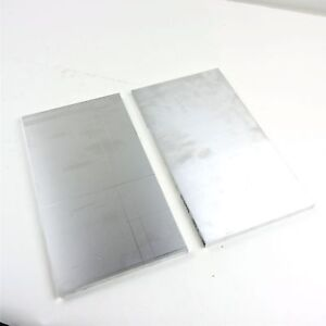 5 Thick 1 2 Aluminum 6061 Plate 10 25 X 22 125 Long Sku 180124