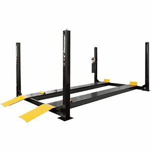 Dannmar 4 post Truck And Car Lift 12 000 lb Capacity Model D 12