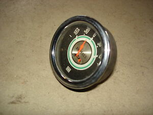 Vintage Stewart Warner Green Line Ampers Amp Gauge Nascar Iroc Hot Rod P 82871