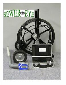Sewereye Cameras Sewer Camera Pipe Inspection System With Locator And Recorder