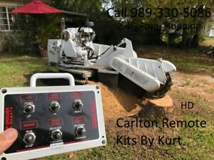 Carlton Stump Grinder Radio Control Kit 7015 Track Width Functions