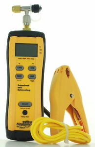 Fieldpiece ssx34 Super Heat And Sub Cooling A c Refrigeration Meter used