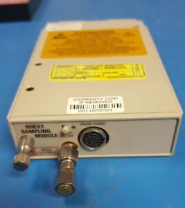 Tektronix 80e01 Electrical Sampling Module 1 Channel 50 Ghz Tds8000 Csa8000