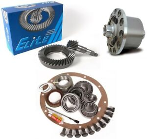 07 17 Jeep Wrangler Jk Dana 30 4 56 Ring And Pinion Truetrac Posi Elite Gear Pkg