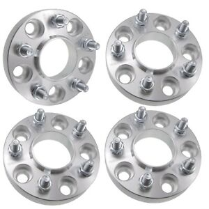 4x 1 Hubcentric 5x110 Wheel Spacers Fits Jeep Renegade Cherokee Dodge Dart 25mm