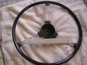 Vintage Austin Healey Original Steering Wheel