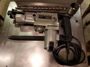 Hitachi Pr38e Rotary Hammer Corded Drill Used With Case