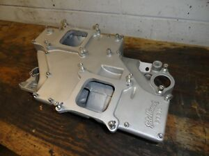 Sbc Cross Ram Crossram Edelbrock Str 10 Small Block Chevy
