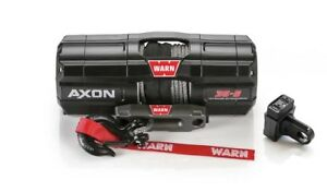 Warn 101130 Axon 35 S Spydura Synthetic Rope Power Sport Winch