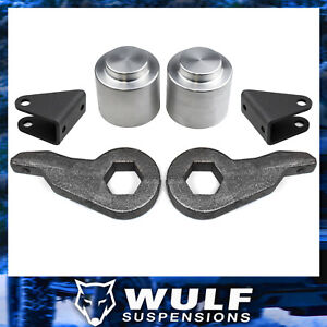 3 Front 3 Rear Lift Kit W Shock Extenders For 2003 2009 Hummer H2 4wd