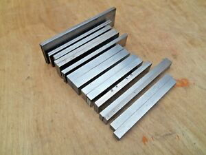 Machinist Parallels 4 6 Long 10 Sizes