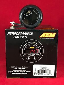 Aem Tru Boost 52mm Controller Electronic Digital Gauge Type Kit 30 4350