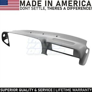 Grey Molded Dash Cover Skin For 1997 1999 Tahoe Yukon Suburban Sierra Escalade