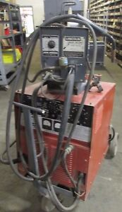 Lincoln Arc Welder Wire Feeder R3s 325 7825lr