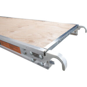 Metaltech M mpp719re 7ft X 19in Aluminum Platform With Edge Capping
