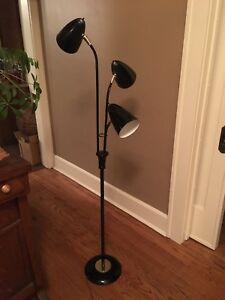 Mid Century Modern 3 Bulb Floor Lamp Atomic Bullet Light Display Furniture