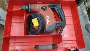Hilti Te 6 s Hammer Drill With Case 120v Corded Rotary Manuals