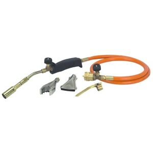 Propane Torch With Three Burners Torch Nozzle Brazing Tool Flat Burner