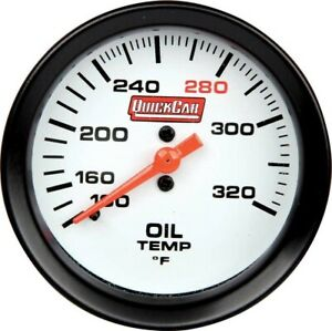 Quickcar 611 7009 Extreme Gauge Series Oil Temp Gauge 2 5 8 Nascar Usmts Ump