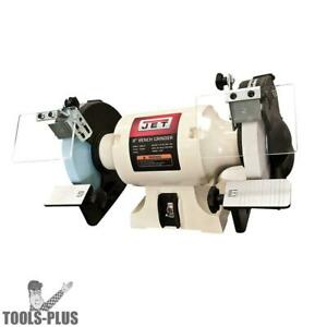 Jet 726100 8 Woodworking Bench Grinder 2 Norton Wheels New