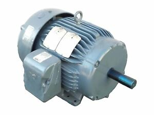 New Baldor Cp3774t Ac Electric Motor 10hp 3 phase 208 230 460v 1760rpm 215t