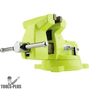 Wilton 63187 5 High visibility Safety Vise W Swivel Base New