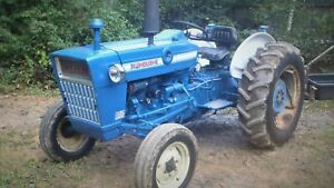 Good Working Tractor 1971 Ford 3000 With 3 Cylinder Gas Engine