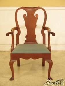 44024ec Kittinger Cw 151 Colonial Williamsburg Mahogany Armchair