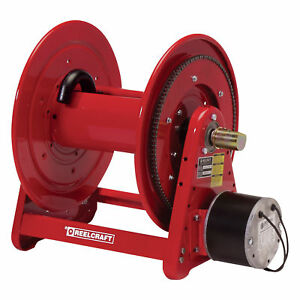 Reelcraft Electric Motor Driven Hose Reel 12v Dc 3 4in X 175ft Hose Capacity