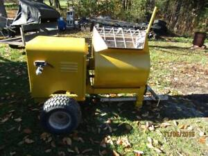 Muller Cement Mixer 5 5 Cubic Feet excellent Condition works Well