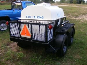 260 Gallon Tank Tandem Axel Trailer Pressure Washer Water Hauler Nice