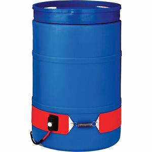 Briskheat Plastic Drum Heater 55 gallon 300 Watt 240 Volt dpcs25