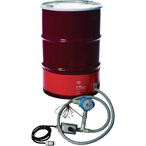 Briskheat 55 gallon Drum Heater For Hazardous Areas For T4a Environments