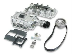 Weiand Supercharger System Roots 177 Series Polished Chevy Small Block Kit 65061
