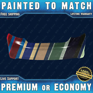 New Painted To Match Rear Bumper Cover For 2012 2014 Toyota Camry Le Xle Hybrid