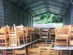 25 Solid Oak Chairs