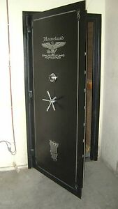 Vault Door 80 X 42 X 6 Outswing Panic Room Security Shelter Gun Room Door