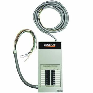 Generac 85 amp Indoor Pre wired Automatic Transfer Switch W 16 circuit Load