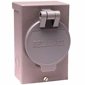 Reliance Controls 30 amp 3 prong Power Inlet Box
