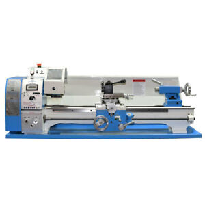 Precision Matthews Pm1022 Metal Lathe 1 Bore Variable Speed Free Shipping