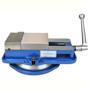 5 Inch High Precision Milling Vise W swivel Base Knee Mill Or Bench Mill