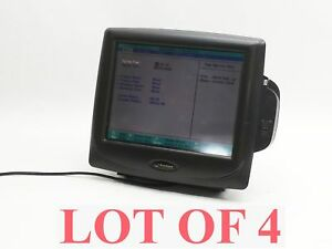Lot 4 Radiant Systems P1520 0218 ba 15 Touch Touchscreen Pos Point Sale Terminal
