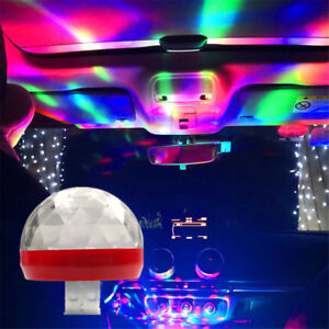 Hot Car Interior Atmosphere Neon Lights Mixed Color Led Usb Rgb Decor Music Lamp