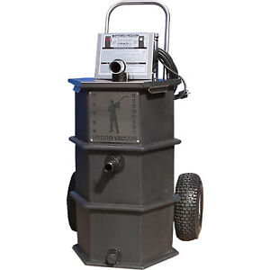 Hydro Vacuum Portable High volume Water Capture transfer System 30 Gpm