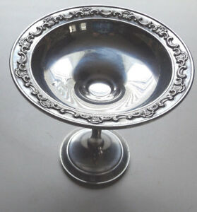 Gorham 1140 Sterling Silver Compote Weighted Candy Dish
