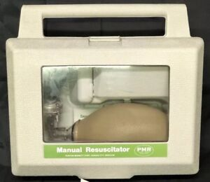 Puritan Medical Manual Resuscitator In Hard Case Pmr Extra Ventilator Piece