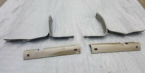1955 1956 Ford Thunderbird Front Bumper Brackets Used Reproduction Set