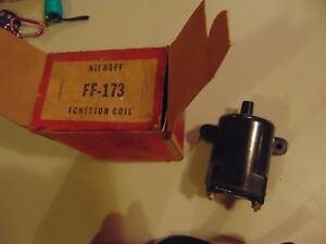 Vintage Niehoff Ignition Coil Ff 173 Ford 1941 1948