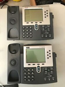 Cisco Ip Phone 7960 Lot Of 2