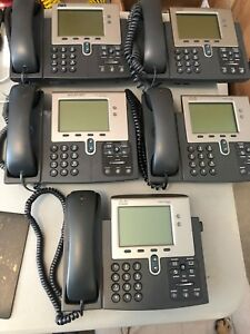 Cisco Ip Phone 7941 Lot Of 5
